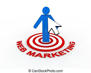 Web Marketing Concept