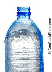 Plastic bottle isoalted on white
