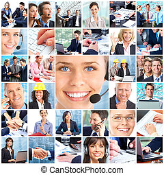 business people - Business people Businessmen and business...