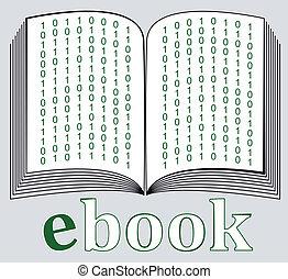 ebook, pictogram