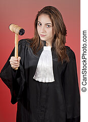 Young judge