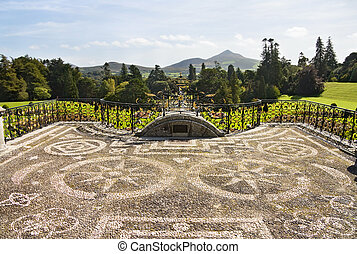Powerscourt mansion - Wicklow, Ireland - Powerscourt Mansion...
