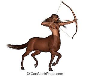 zodiak, znak, -, Sagittarius