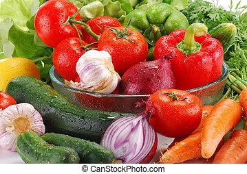 cru, legumes