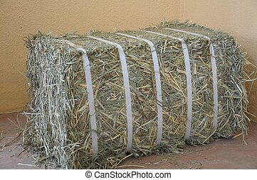Compressed Hay Bale