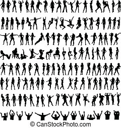 150 female and male poses new silho