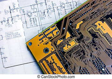 schematic diagram and electronic board - schematic diagram -...