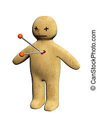 Standing voodoo doll - Dark series - standing voodoo doll,...