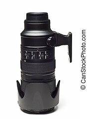 Telephoto. - telephoto isolated on a white background.