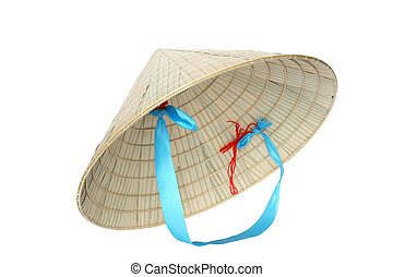 Vietnamese Hat - Typical Vietnamese conical straw hat...