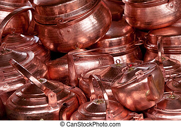 chinese copper teapots