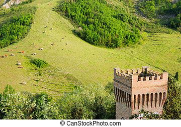 landscape of Romagna