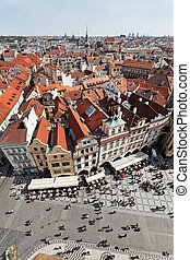 Prague, Old Town Square, City View - Prague, Old Town...