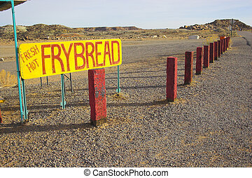Fry bread - Fragments of the visitor center at Navajo...