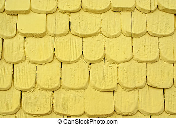 Wood Shingles - Wood shingles are someplaces used for wall...
