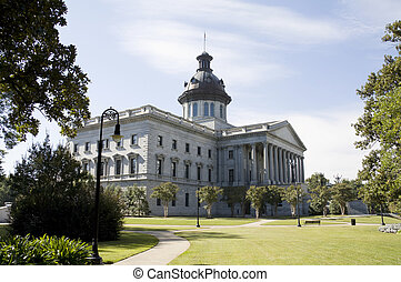 SC capital NE - capital building and grounds in downtown...