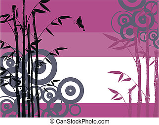 bamboo background 1 - bamboo background in vector format
