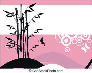 bamboo background 8 - bamboo background in vector format