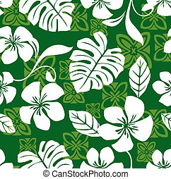 Aloha Friday Hawaiian Shirt Pattern - Illustration of a...