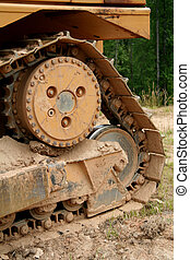 Bulldozer tread