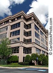 corporativo, oficina, edificio