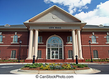 City Hall building - Local City Hall building