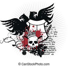 heraldic coat of arms3 - heraldic coat of arms in vector...