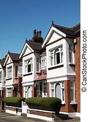 Terraced Houses at London.