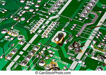 pcb - printed electronic board