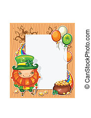 St Patricks Day banner - St Patricks Day celebration...