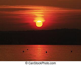 Pink sunset       - Beautiful Pink sunset