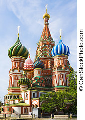 St. Basil's Cathedral - St. Basil (Cathedral of the...