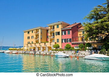 Hotel in Sirmione, Italy - View Over Lake Garda and Sirmione...