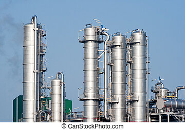 petrochemical industry pipes