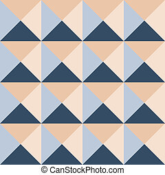 seamless cool shaded prism - shaded triangles suggest depth...