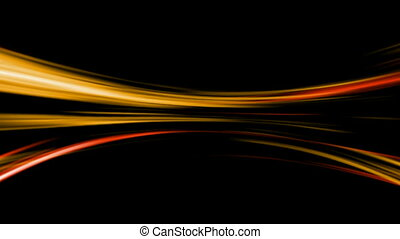 Light streaks - CG animated background