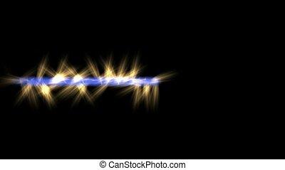 blue light beam jet golden rays,laser weapons,power...
