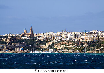 Mgarr, Gozo - View of Mgarr, Gozo. (Maltese islands)