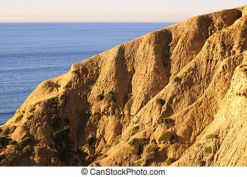 Torrey Pines Beach (Southern California, USA)