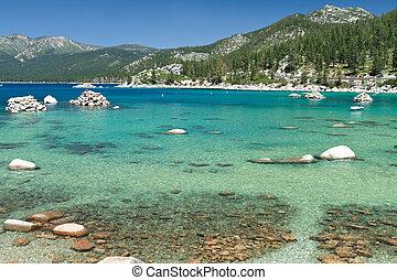 Lake Tahoe - shore of Lake Tahoe
