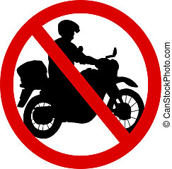 No motorcycle