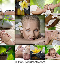 spa collage