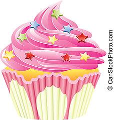 Cor-de-rosa, Cupcake