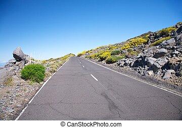 road at La Palma