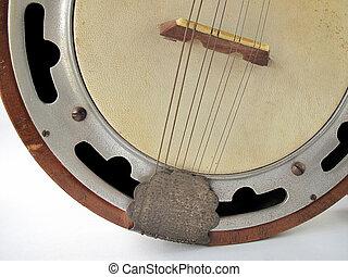 mandolina,  banjo
