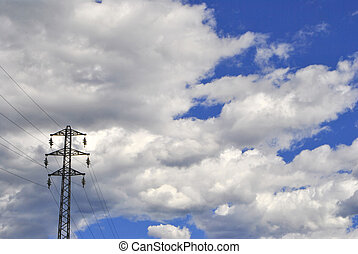 Electrical towers for transport high voltage electricity