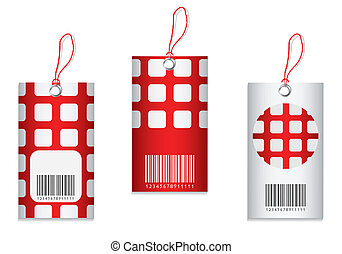 price tag with special design