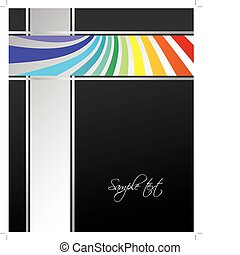 business brochure with special design