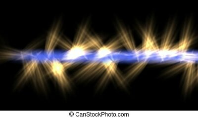 laser weapons,power energy,blue light beam jet golden...