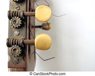 banjo, cuerdas